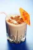 Milkshake del chocolate Imágenes de archivo libres de regalías