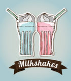 Milkshake Royalty Free Stock Images