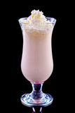 Milkshake in a glass Royalty Free Stock Photography