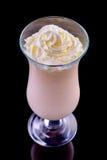 Milkshake in a glass Stock Image