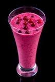 Milkshake in a glass Royalty Free Stock Image