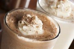 Milkshake riche et crémeux de chocolat image stock
