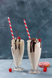 Milkshake (smoothie) Stock Photography