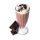 Milkshake sur la table photos libres de droits