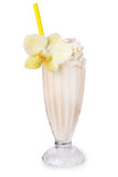 Milkshake on the table Royalty Free Stock Photography