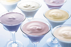 Milkshaken Stock Fotografie