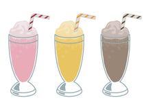 Milkshaken Stock Foto