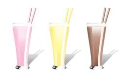 Milkshakes Royalty Free Stock Image