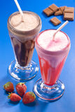 Milkshakes Royalty Free Stock Photos