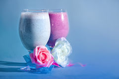 Milkshakes Stock Photography