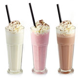 milkshakes Arkivbilder