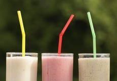 Milkshakes Royalty Free Stock Images