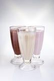 Milkshakes royalty free stock photo