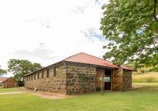 Milkshed,在塔拉纳博物馆的一个历史建筑在邓迪 免版税库存图片