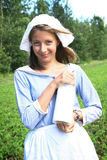 Milkwoman Royalty Free Stock Image