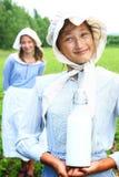 Milkwoman Stock Image