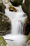 milky водопад Стоковая Фотография RF