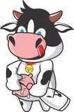 Milky корова Стоковое Изображение