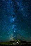Milky пути Стоковое Изображение