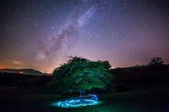 Milky свет Стоковая Фотография RF