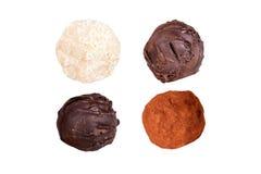 Milky шарик шоколада в наличии стоковая фотография rf