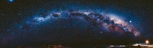 milky Antarktis långt Vernadsky station Arkivbilder