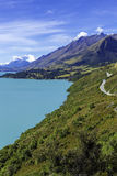 Milky Blue Lake Wakatipu, Southern Lakes, South Island, New Zealand Royalty Free Stock Photography