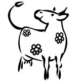 Milky Cow Stock Images