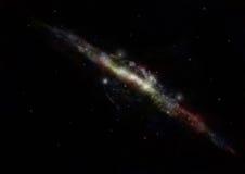 milky galax långt vektor illustrationer