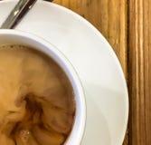 Milky herbata przygotowywa obrazy stock
