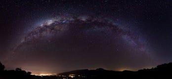 Milky långt Arkivfoton