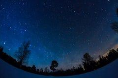 Milky långt fotografering för bildbyråer