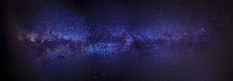 Milky långt panorama Royaltyfri Fotografi