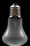 Milky light bulb Stock Photo