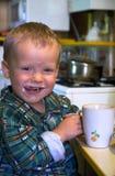 milky lycka Arkivbild