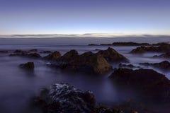 Milky sea. The image was captured at Portmarnock Beach, Ireland Royalty Free Stock Photos