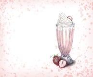 milky shaik royaltyfri illustrationer