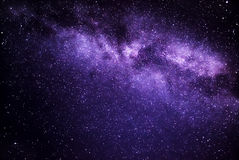 Milky sposób Obraz Stock