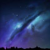 Milky sposób Zdjęcie Stock