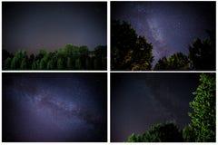 Milky sposób jest nasz galaxy To długiego ujawnienia astronomiczna fotografia mgławica zdjęcie royalty free