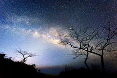 Milky sposób na niebie Zdjęcia Stock