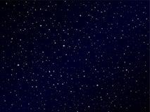 Milky sposób niebo nad my Fotografia Stock