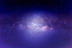 Milky sposobu galaxy Obrazy Stock