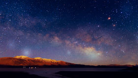 Milky sposobu galaxy Zdjęcia Royalty Free