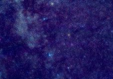 milky stjärnor långt Royaltyfri Fotografi