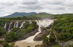 Milky treat of waterfalls Royalty Free Stock Image