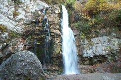 milky vattenfall Fotografering för Bildbyråer