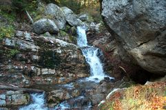 milky vattenfall 2 Arkivbild