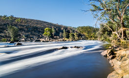 Milky water of a flooding river Stock Photography