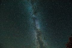Milky way. astrophotography, night. Photografy royalty free stock image